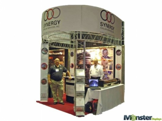trade show stands arch truss