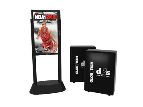 digital banner stand will give your convention booth an updated look