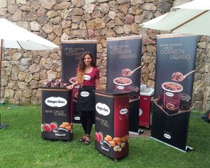 HaagenDazs Booth Promotion