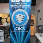 2) Retractable Banner Stand