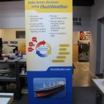 16) Retractable Banner Stand