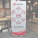 5) Retractable Banner Stand