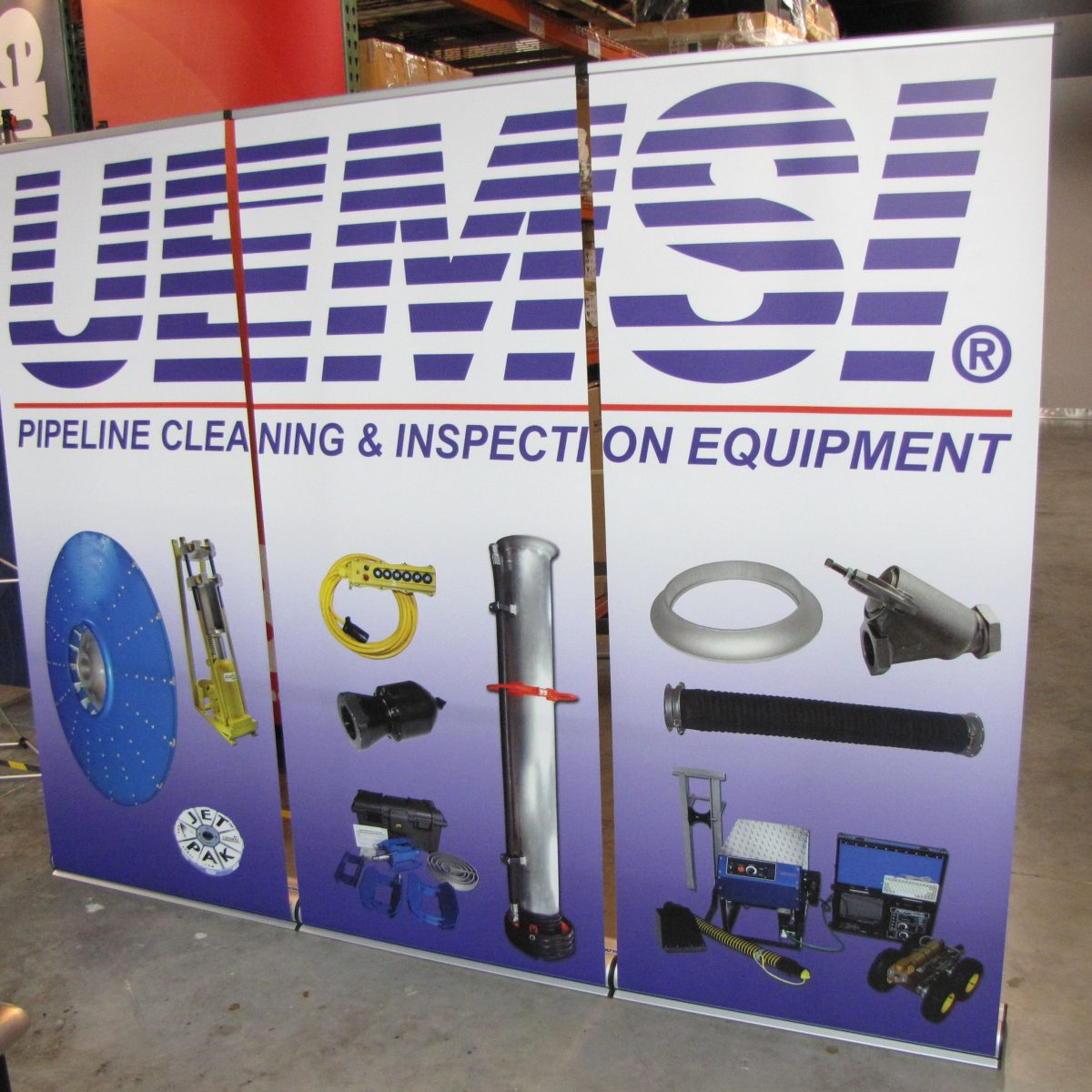 11) Retractable Banner Wall