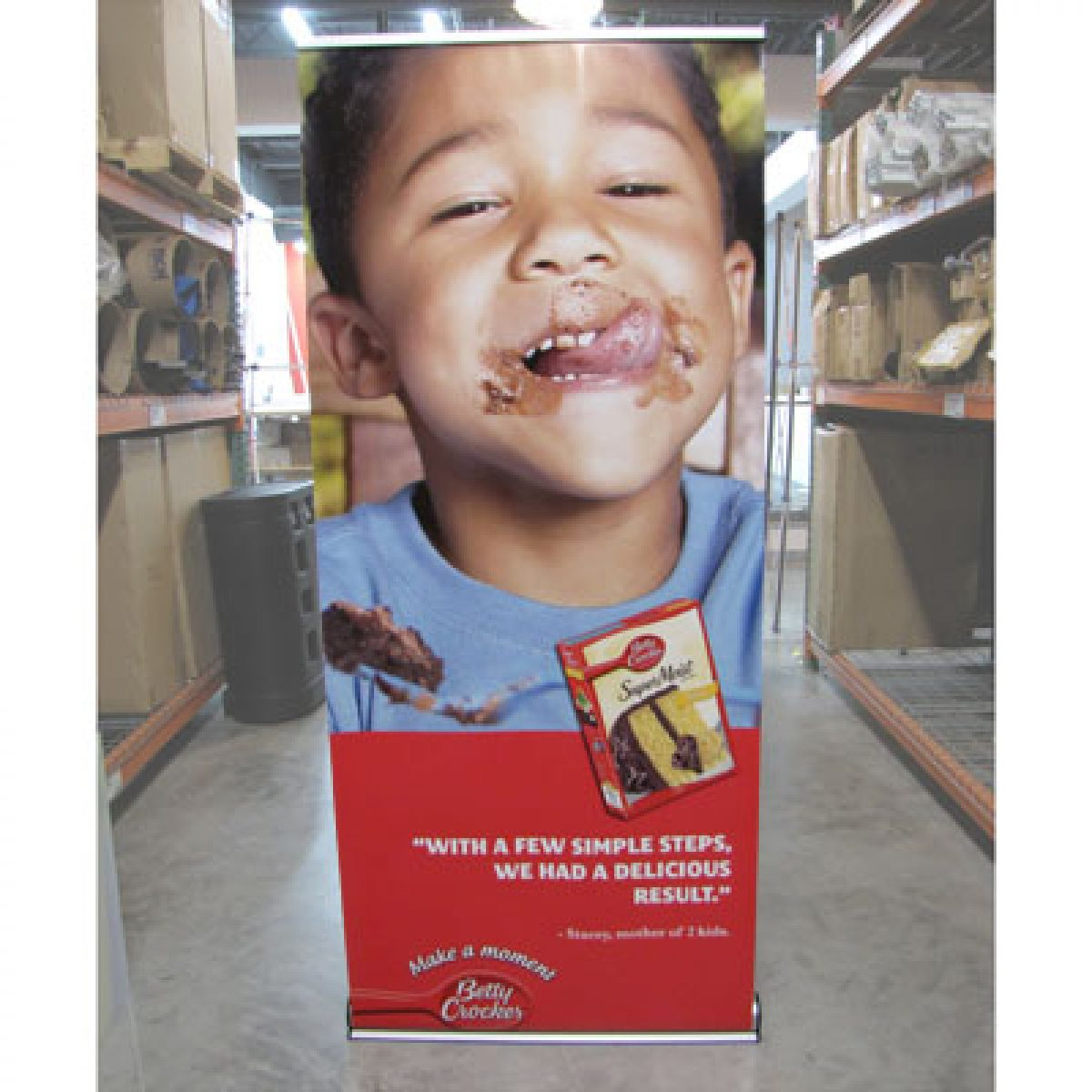 7) Retractable Banner Stand