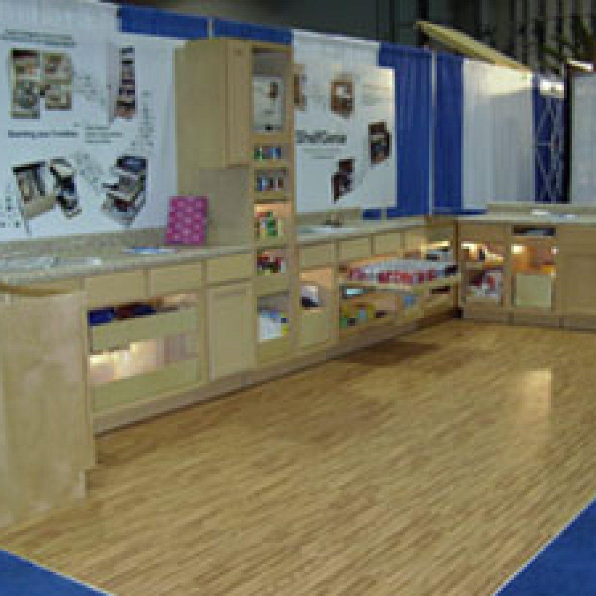2) Hardwood Tile