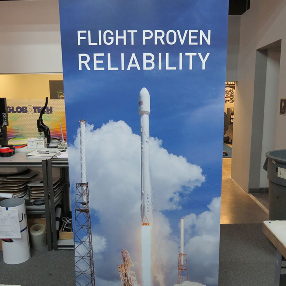 22) Retractable Banner Stand