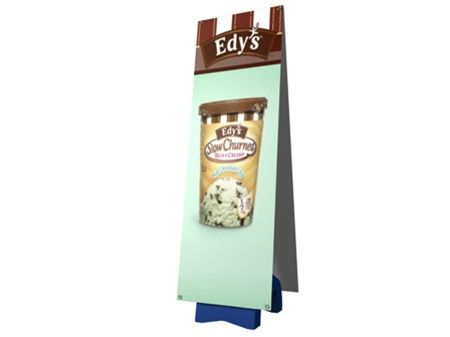 outdoor tension fabric signage and banner display