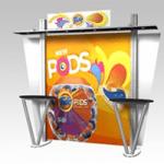 Modular displays are both durable