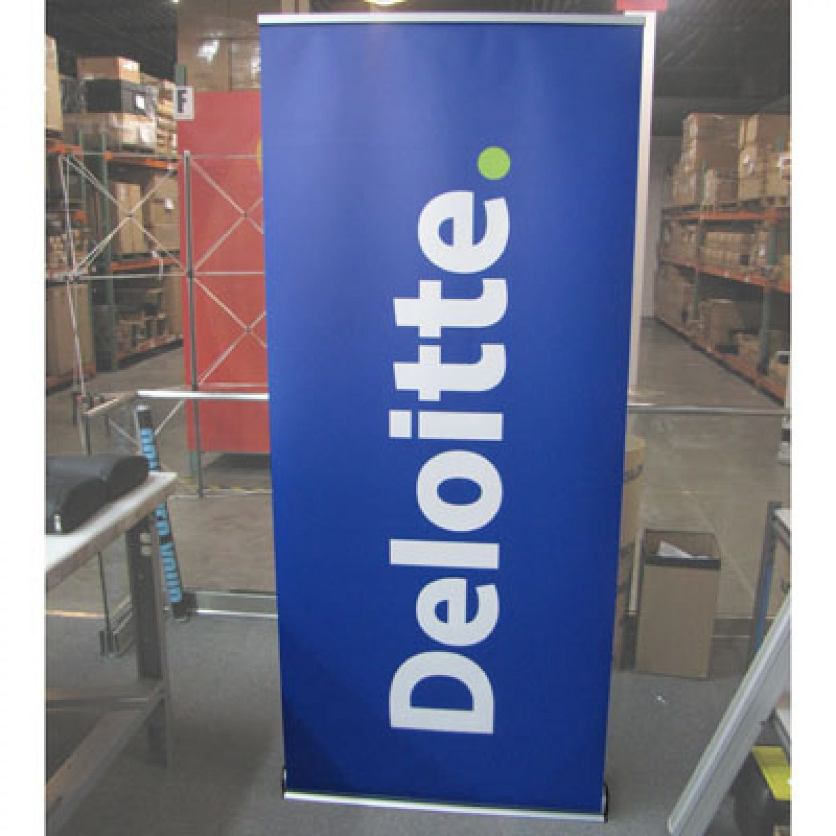 24) Retractable Banner Stand
