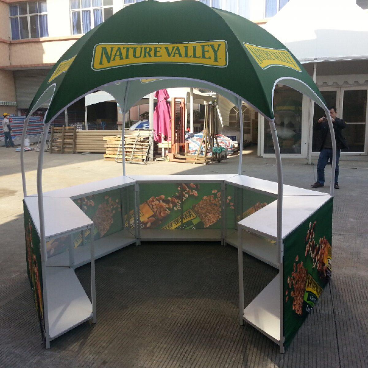2) Outdoor Archway Deluxe Tent