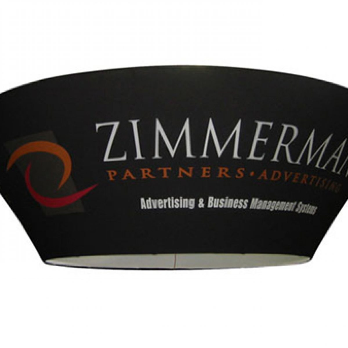 6) Tapered Circular Hanging Banner
