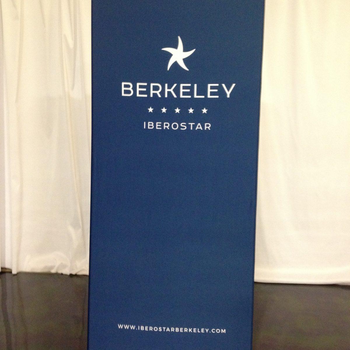 32) Banner Stand